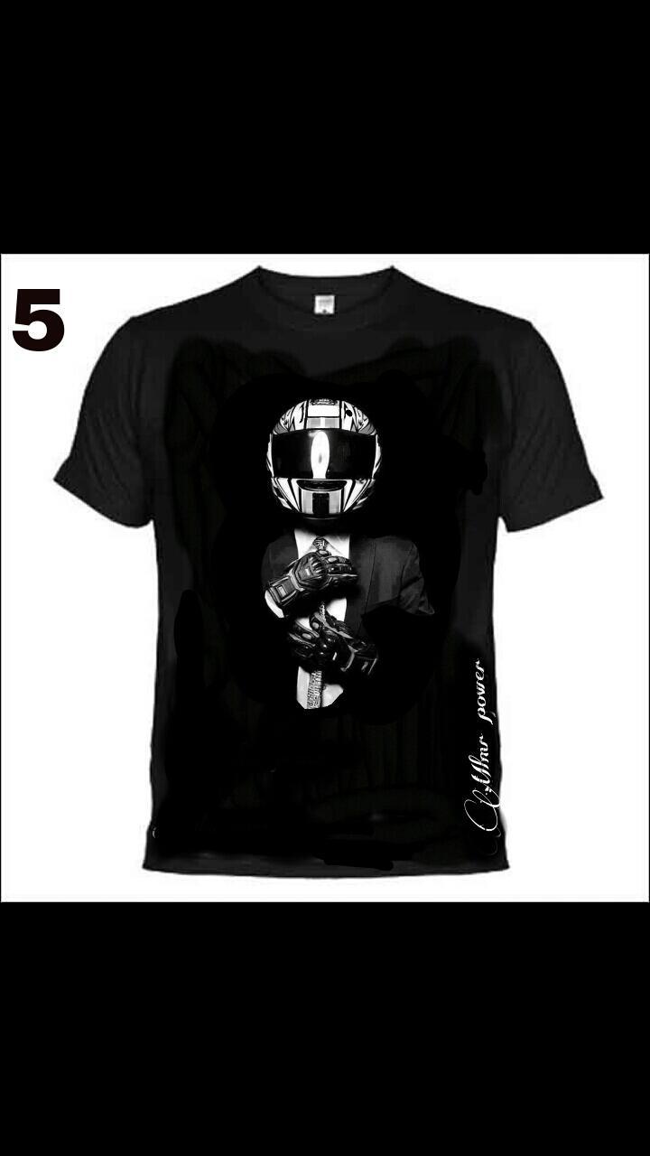 Camiseta Moter@s , MODELO 5  traje /casco