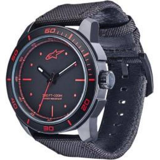 ALPINESTARS  WATCH TECH 3H BLK/RED