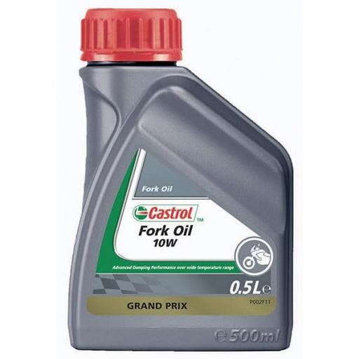Aceite de Horquilla Castrol Sintético 10w 500ml [0]