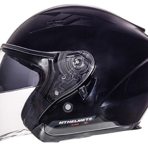 CASCO JET AVENUE SV SOLID GLOSS BLACK