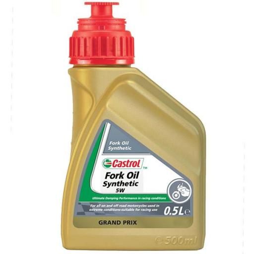 Aceite de Horquilla Castrol  Sintético 5W 500ML