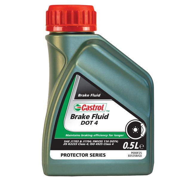 Liquido de frenos CASTROL BRAKE FLUID DOT 4 500 ML