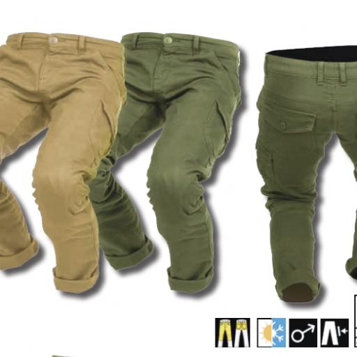 Pantalón Mixed Man [2]