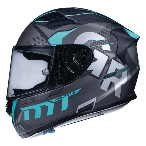 CASCO INTEGRAL KRE SNAKE CARBON GABRI 2018 A8 MATT BLACK