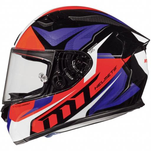 CASCO iNTEGRAL KRE LOOKOUT G2 GLOSS ROJO FLUOR