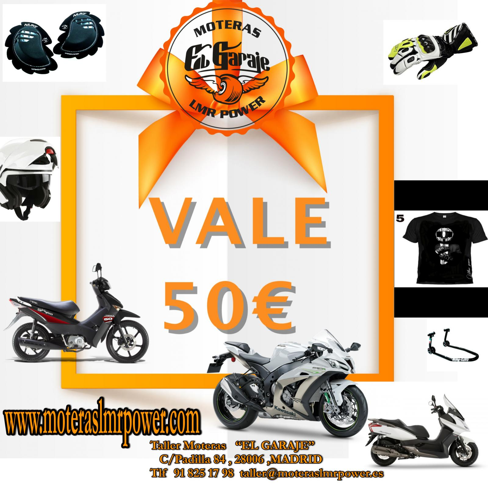 VALE-REGALO 50€