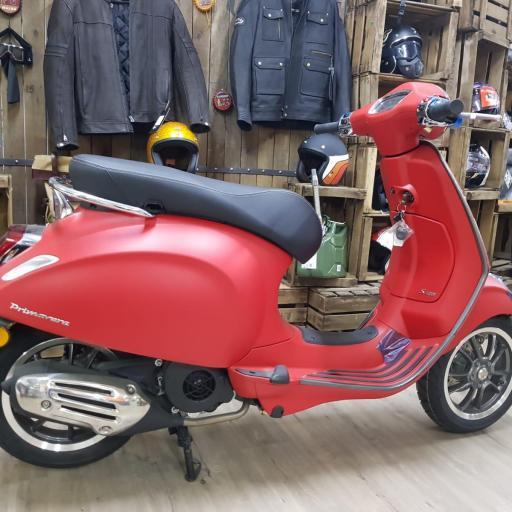 Vespa primavera 125 s New version
