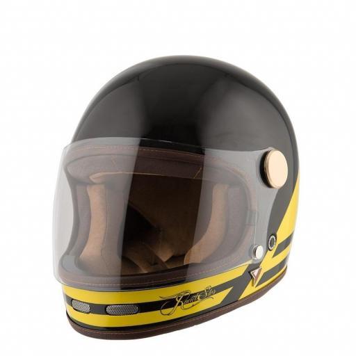 Casco Roadster II Black/Yellow [1]