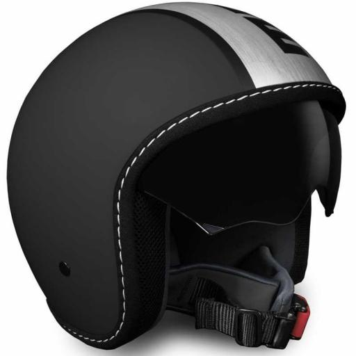 CASCO MOMO DESIGN BLADE BLACK FR/SATIN