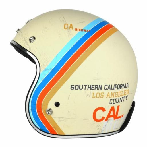 Casco Jet Origine Primo Pacific 2017 California Retro Vintage Americano