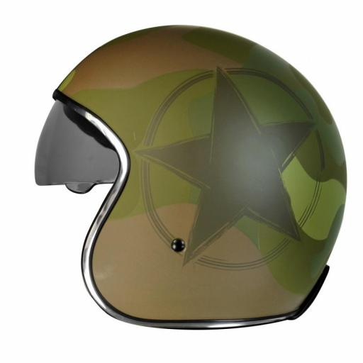 Casco Jet Origine Sprint Army