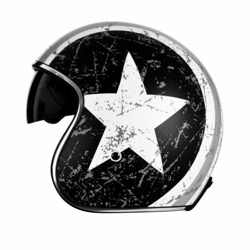 Casco Jet Origine Sprint Rebel Star Gris [1]