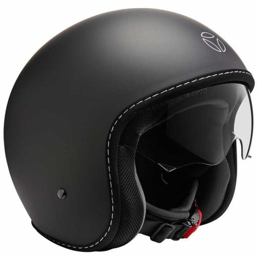CASCO MOMO DESIGN EAGLE PURE BLACK MATT