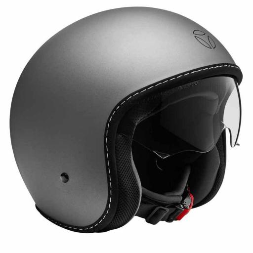 CASCO MOMO DESIGN EAGLE PURE GREY MATT