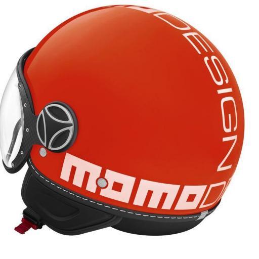 MOMO CLS RED MATT/WHITE [2]