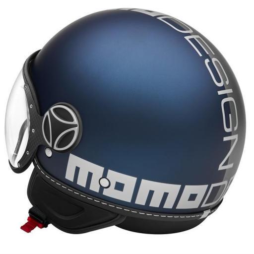 CASCO MOMO DESIGN FGTR EVO JOKER BLUE/CLEAR GREY [2]