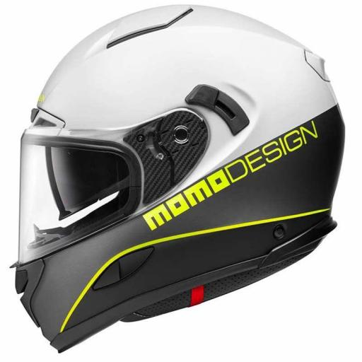 CASCO MOMO DESIGN HORNET WHITE