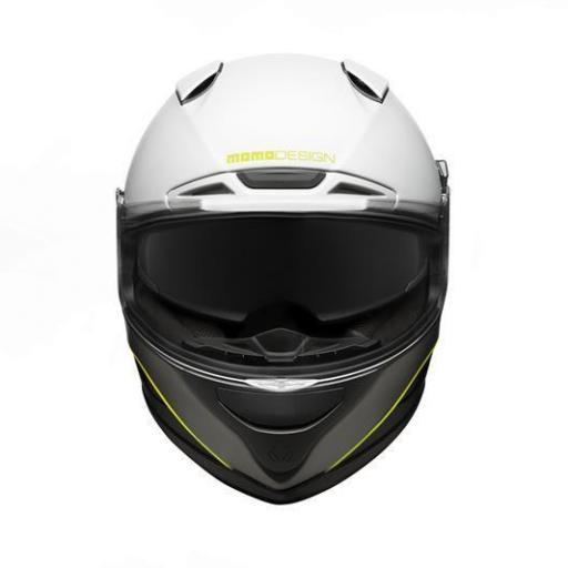 CASCO MOMO DESIGN HORNET WHITE [1]