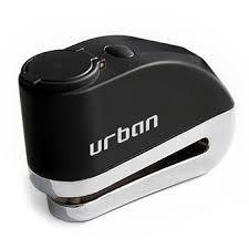 URBAN CANDADO DISCO DE FRENO NEGRO 5.5MM CON ALARM URBAN SECURITY
