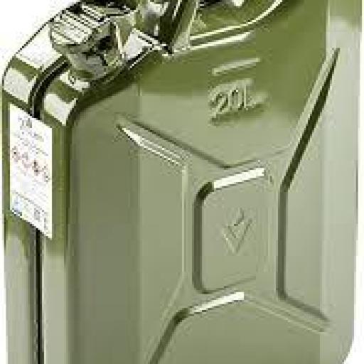 Bidón de combustible 20 litros