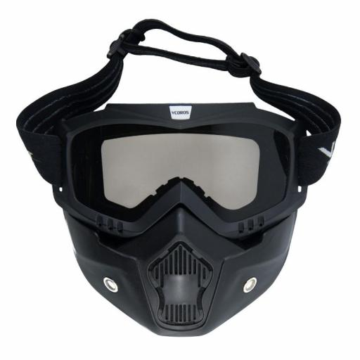 Mascara negra con gafa incluida [2]