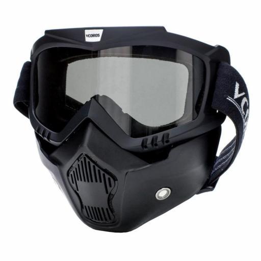 Mascara negra con gafa incluida [1]