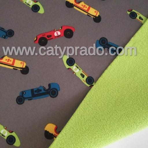 84  cm  SOFTSHELL CARS GRIS  [0]