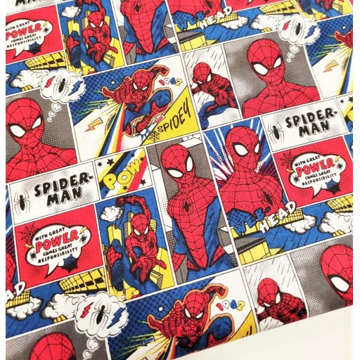 PATCH AMERICANO SPIDERMAN POWER
