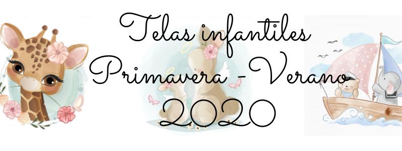 TELAS INFANTILES PRIMAVERA-VERANO 2020
