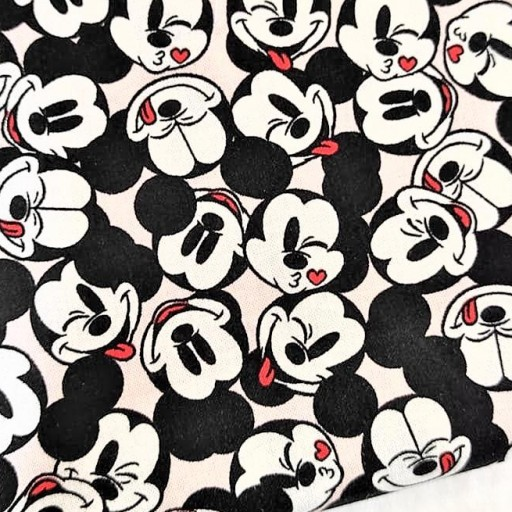 DISNEY PATCH AMERICANO ITS A MICKEY THING ROSA