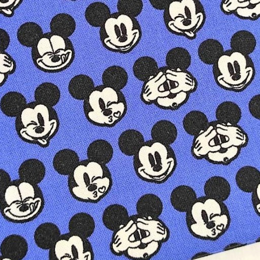 DISNEY PATCH AMERICANO ITS A MICKEY THING  AZUL CARITAS