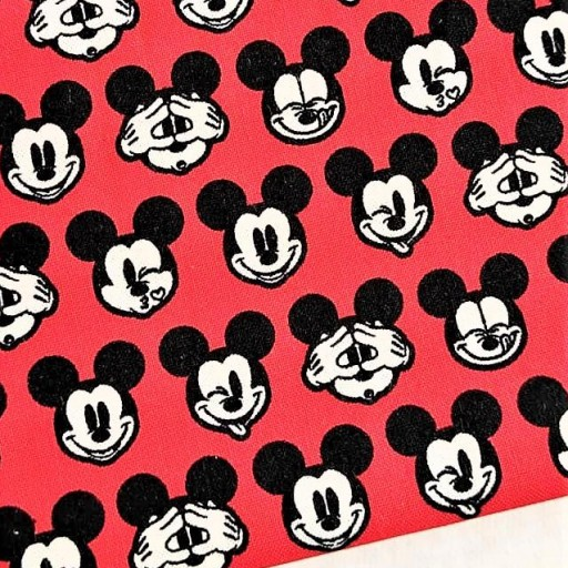 DISNEY PATCH AMERICANO ITS A MICKEY THING ROJO CARITAS