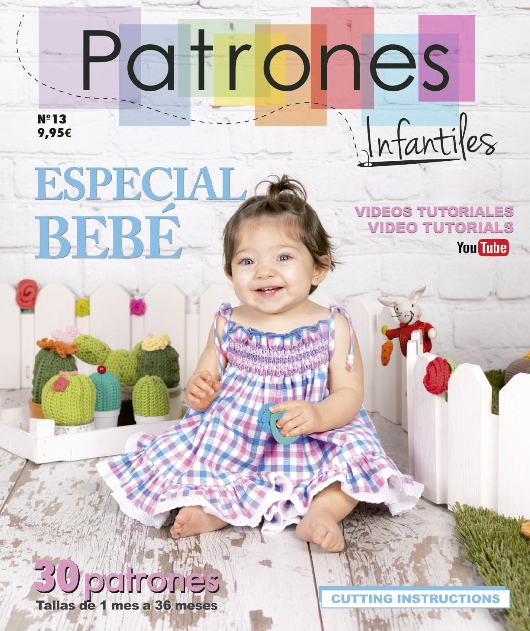 REVISTA PATRONES INFANTILES ESPECIAL BEBÉ Nº 13