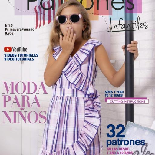 REVISTA PATRONES INFANTILES nº 15 PRIMAVERA / VERANO 2021