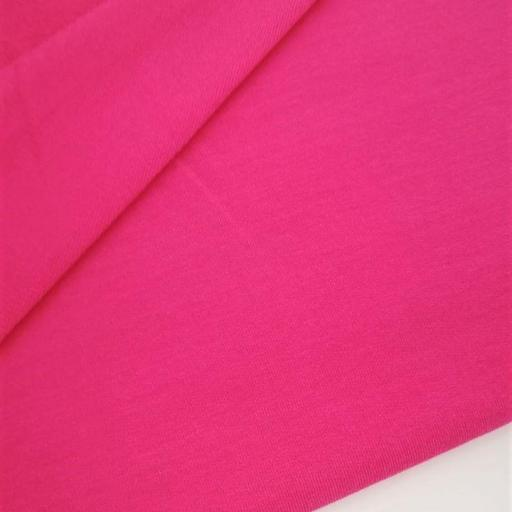 SUDADERA FRENCH TERRY FUCSIA