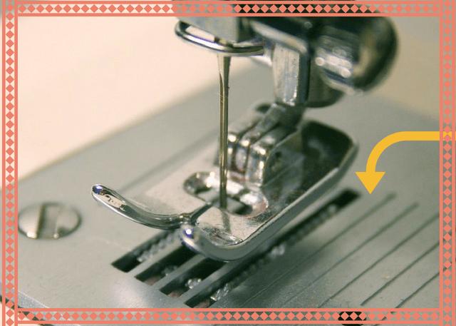 Placa de la aguja de la máquina de coser