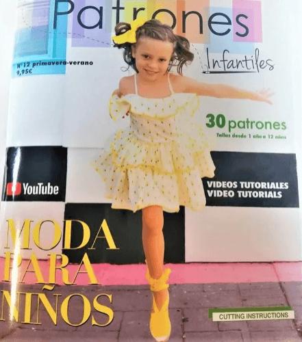 Revista Patrones infantiles primavera verano 2020