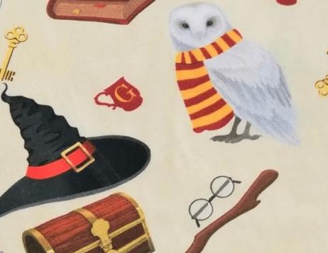 Tela estampado motivos Harry Potter