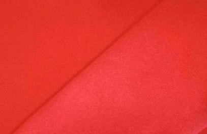 Tejido punto sudadera rojo