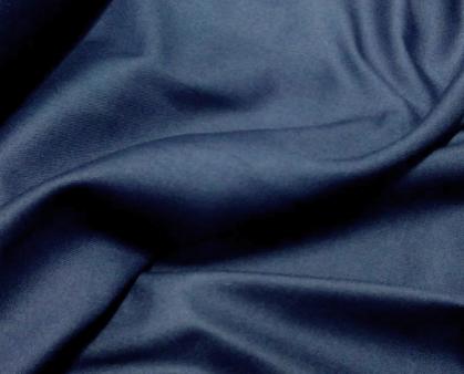 Tela viyela lisa color azul marino