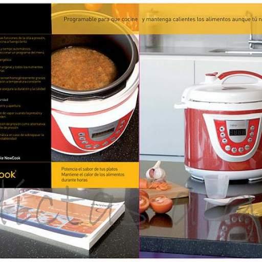 Olla New Chef Programable Eléctrica 6 litros [1]