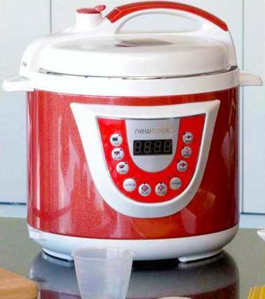Olla New Chef Programable Eléctrica 6 litros