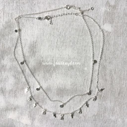 Gargantilla plata con chapitas [3]