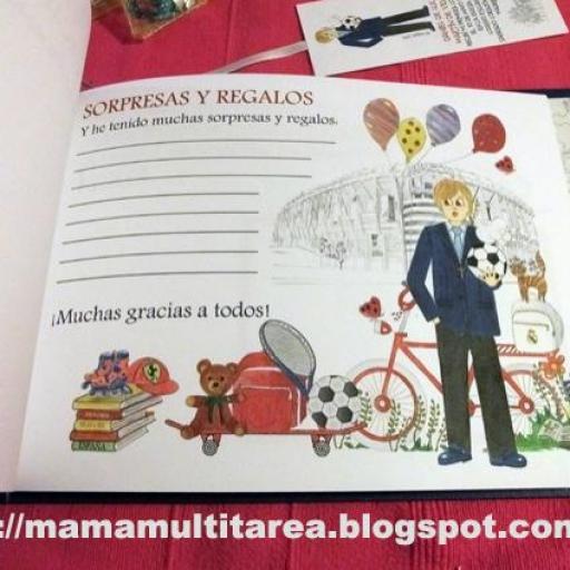 LIBRO DE RECUERDOS PERSONALIZADO [3]