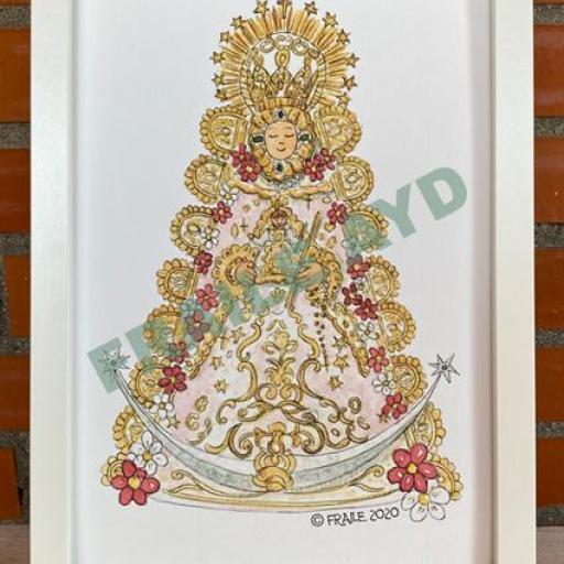 Cuadro Virgen del Rocío  [1]