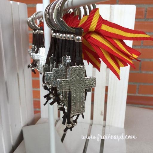 Llavero cruz Padrenuestro España [1]