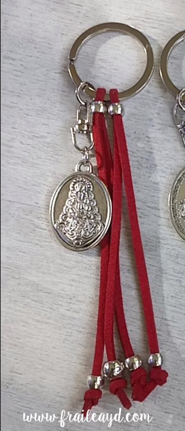 Llavero Virgen del Rocío
