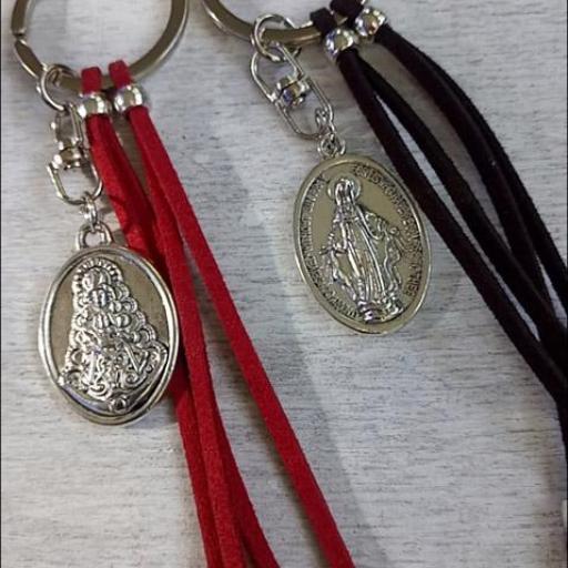 Llavero Virgen del Rocío [1]