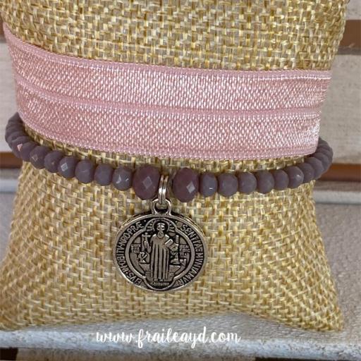 Pack pulseras cristal San Benito [2]