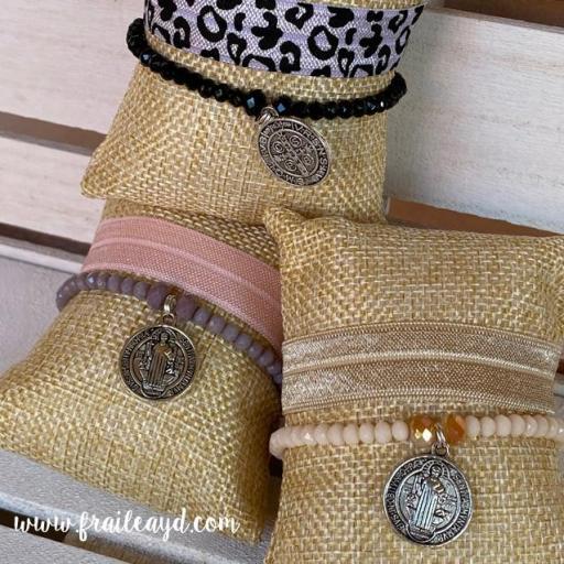 Pack pulseras cristal San Benito